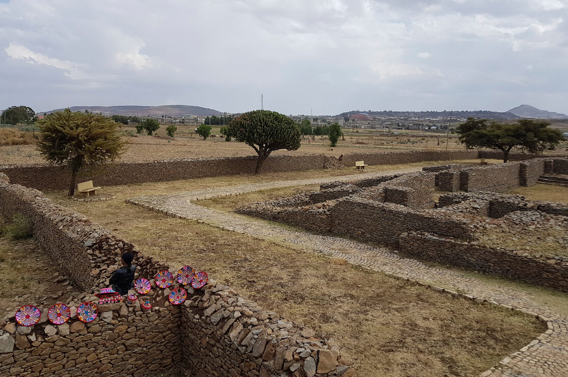 Ruins of Queen of Sheba's Palace