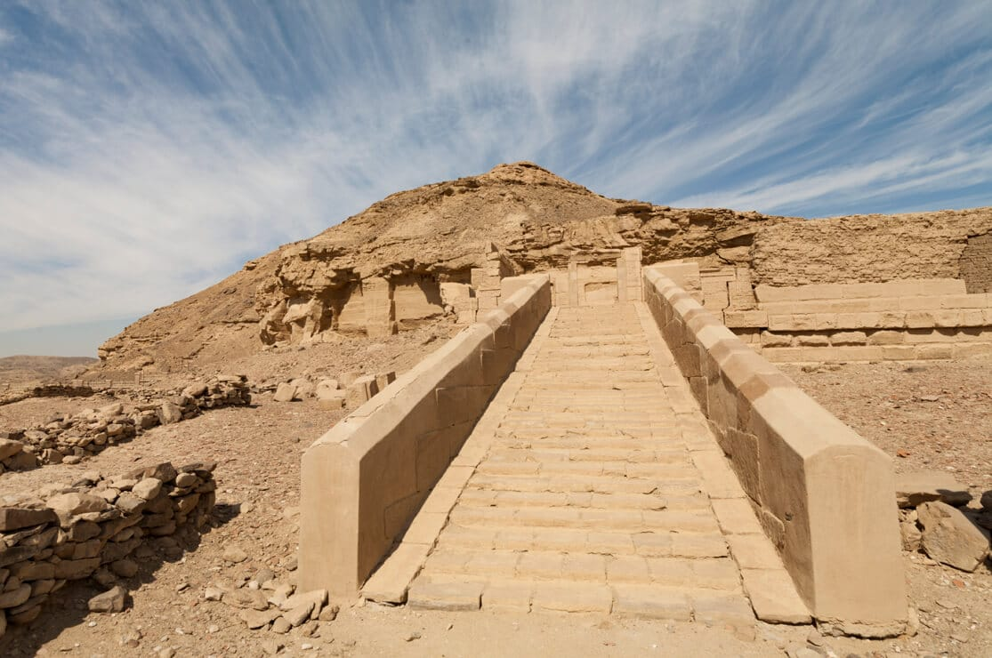 Ptolemaic Temple, El Kab