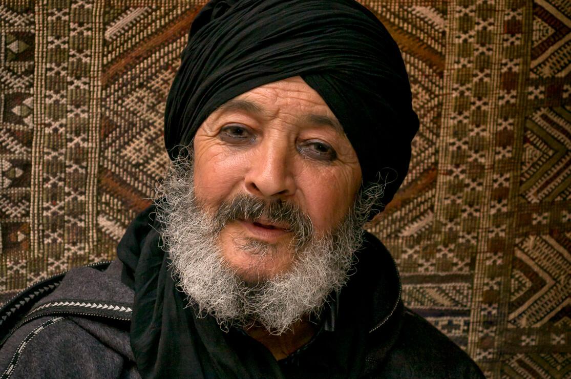 Carpet trader, Marrakech