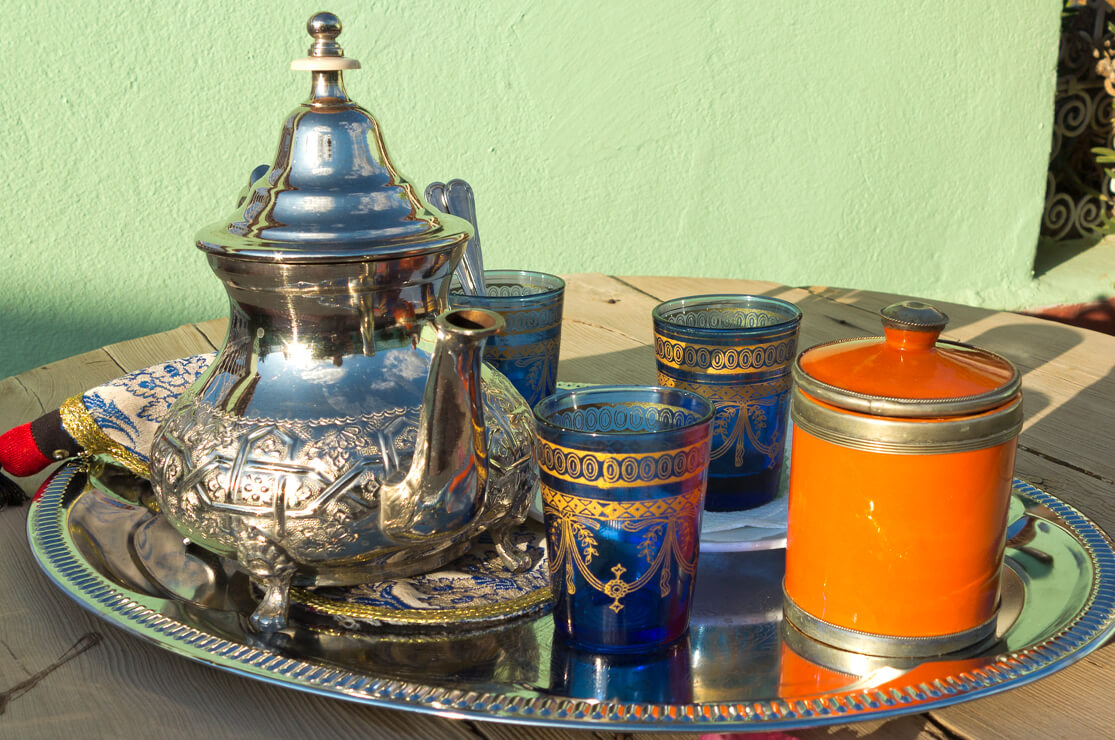 Tea Moroccan style